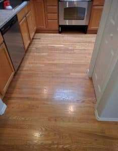 Hardwood Floor Cleaning Before Seattle WA