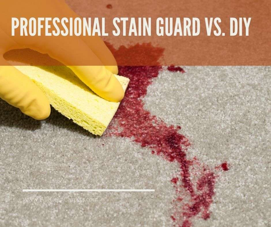 Professional Stain Guard Vs. DIY