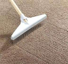 Using a Carpet Rake on Your Floors