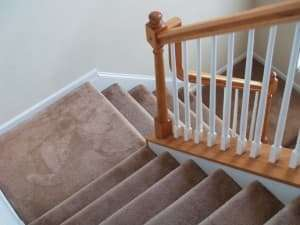 Caring for Carpeted Stairs