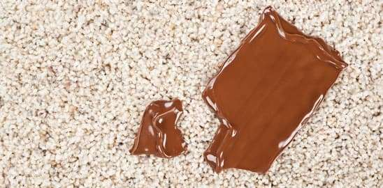 How to Remove Chocolate Stains from the Carpet