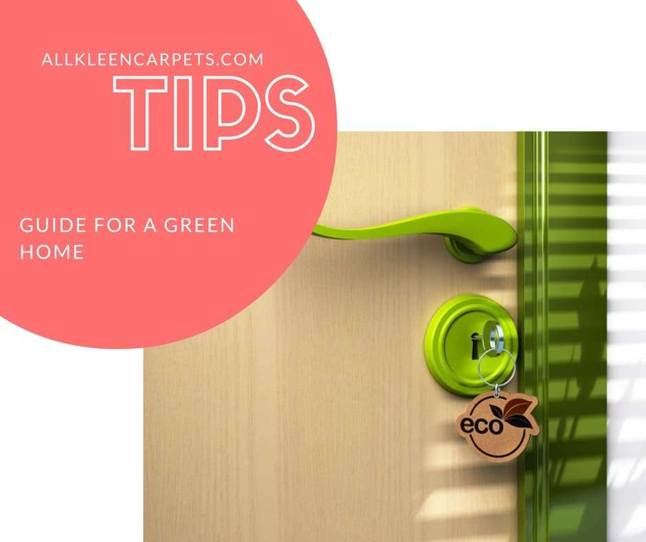 Guide for a green home all kleen carpet cleaning for Green home guide