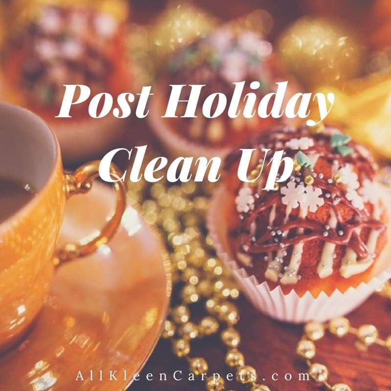 Post Holiday Cleaning Tips