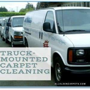 What is Truck-Mounted Carpet Cleaning?