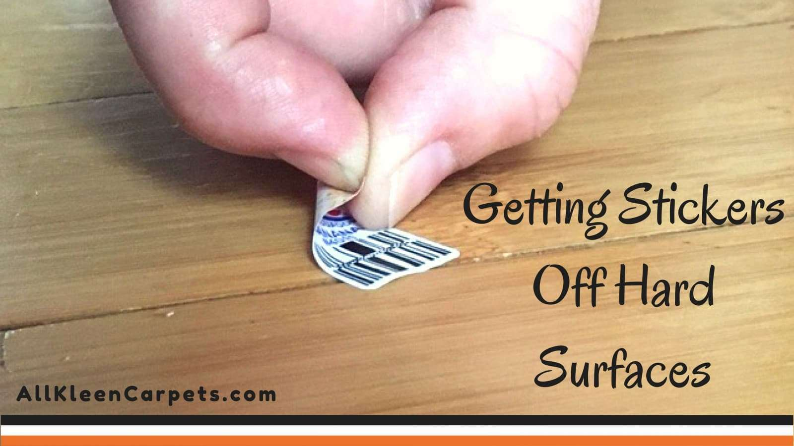 How To Easily Remove Stickers From Hard Surfaces