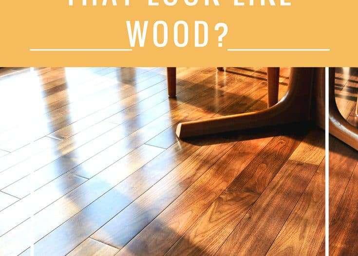 Hardwood Floors or the Wood Look Tile?