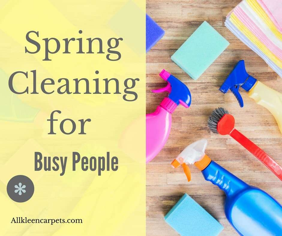 Spring Cleaning Solutions for Busy People