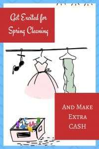 Get Excited About Spring Cleaning by Making Extra Cash