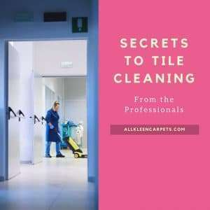 Tile Cleaning Secrets from Professional Housecleaners
