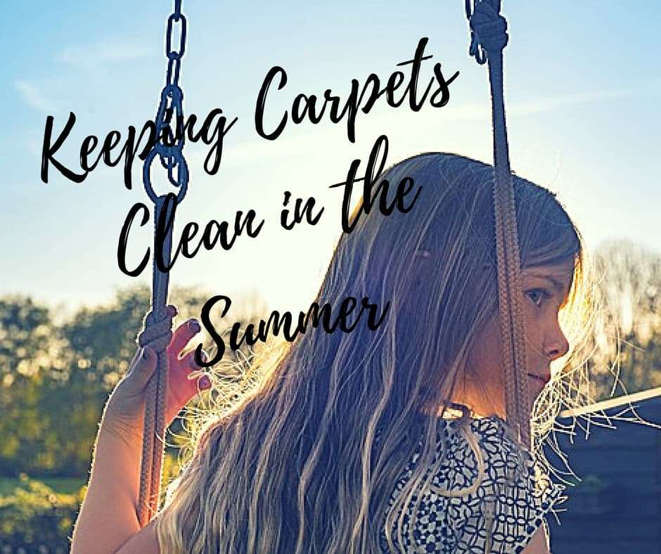 Keeping Carpets Clean in the Summer