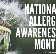 Hacks for National Allergy Awareness Month