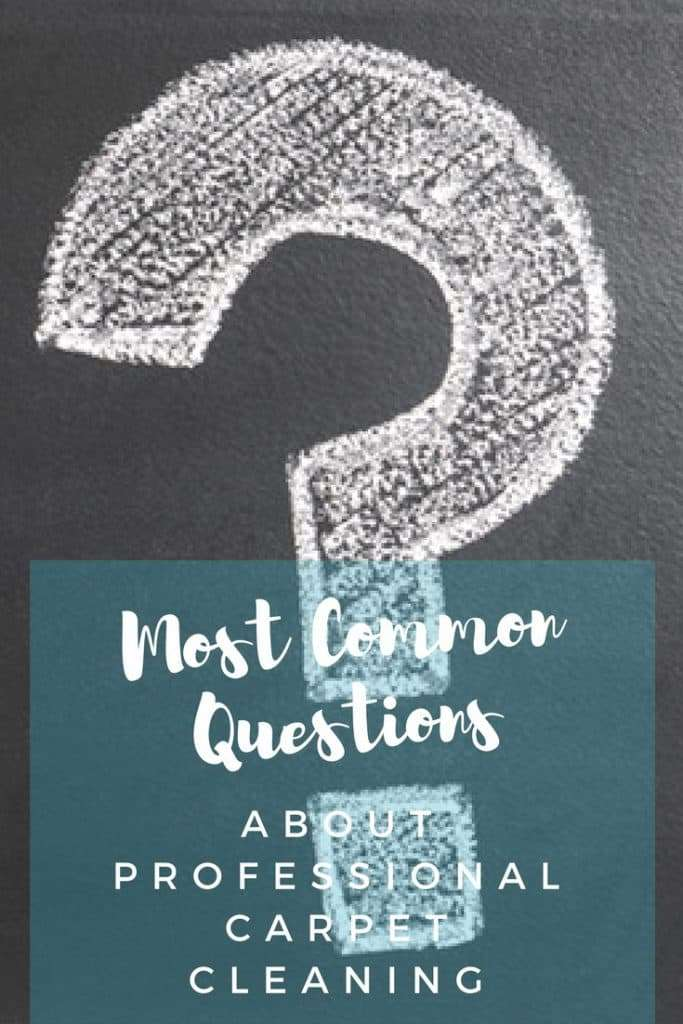 The 5 Most Common Questions for Professional Carpet Cleaners
