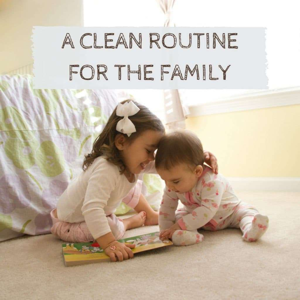Creating a Cleaning Routine for Your Whole Family Seattle WA