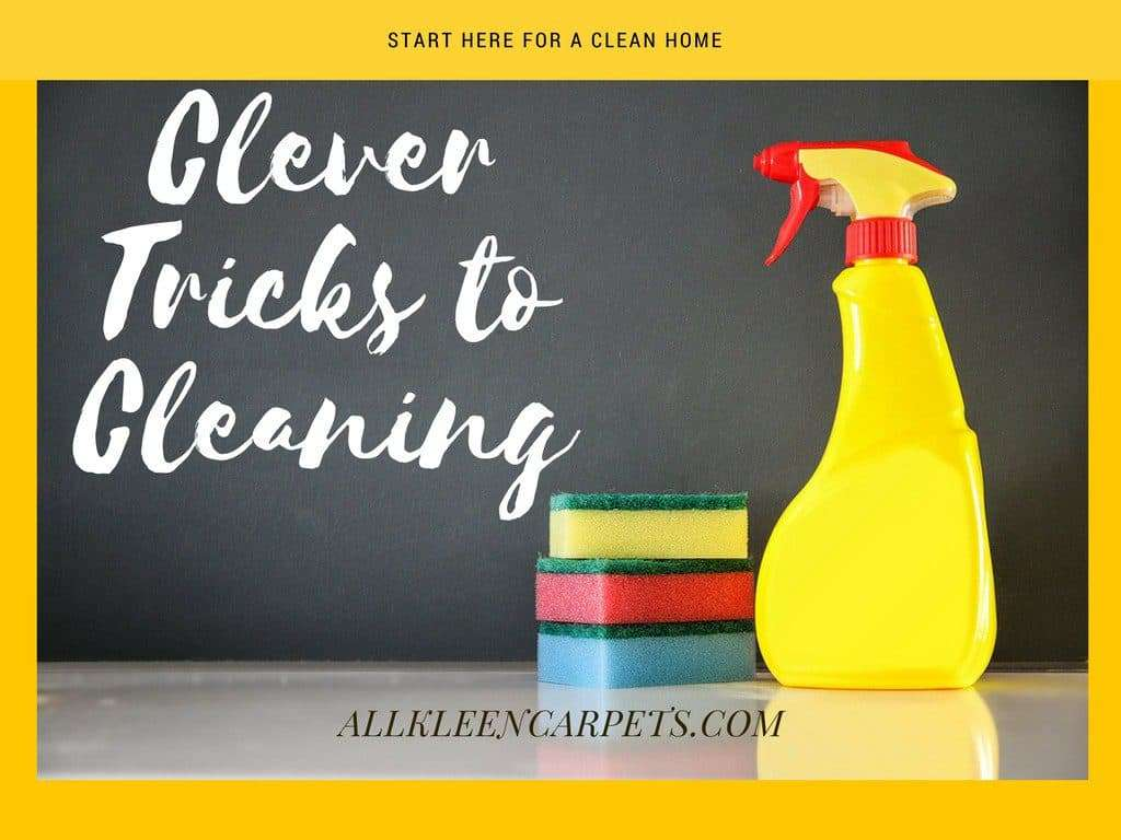 Clever Tricks to Keeping the House Clean