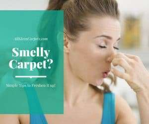 How to Freshen Up Smelly Carpet