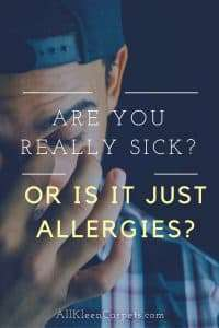 How to Tell if You're Sick or it's just Allergies