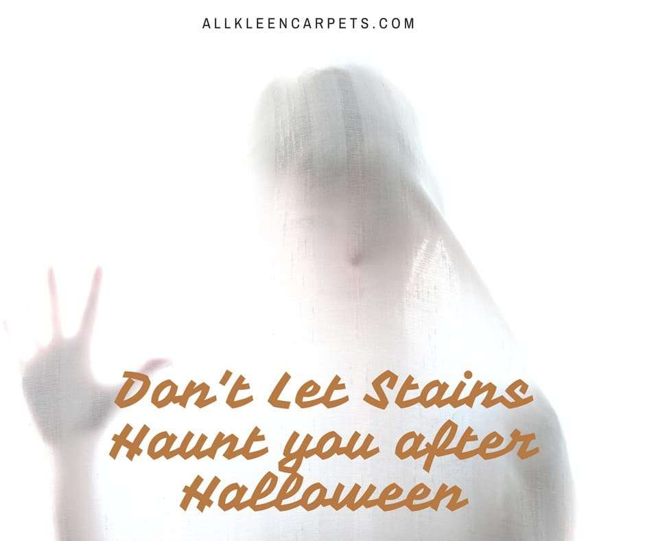 Don't Let Stains Haunt You After Halloween