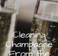 How to Clean Champagne From the Carpet
