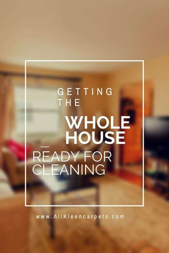 Getting Ready for an Entire Home Carpet Cleaning - North Seattle and Snohomish County