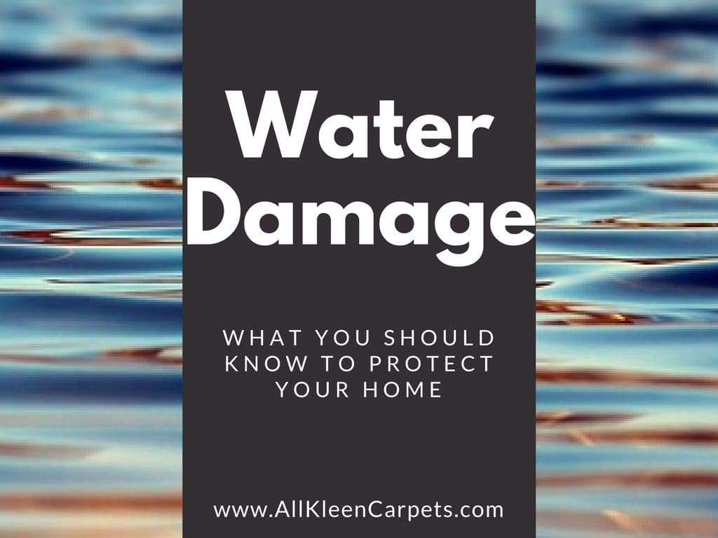 Helpful Things to Know about Water Damage