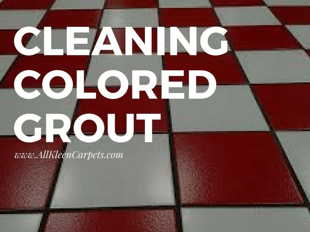 How to Clean Colored Tile Grout