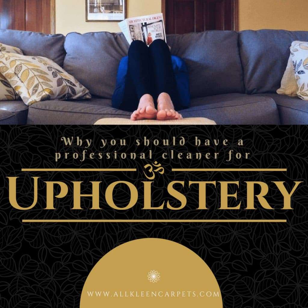 Why You Should Add Professional Upholstery Cleaning to Your List