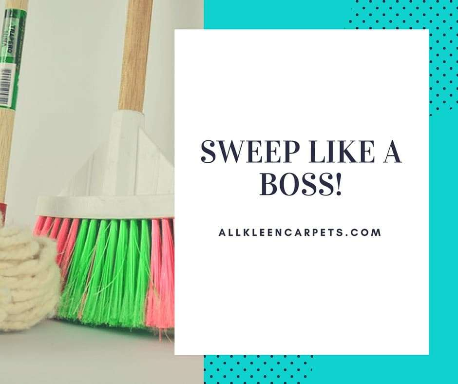 How to Sweep Like a Boss - Pro Moves to Make Sweeping More Efficient