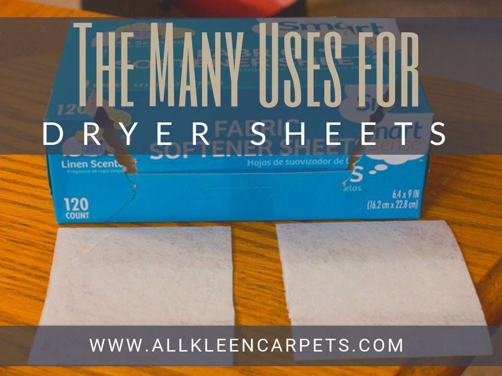 5 Great Uses for a Dryer Sheet