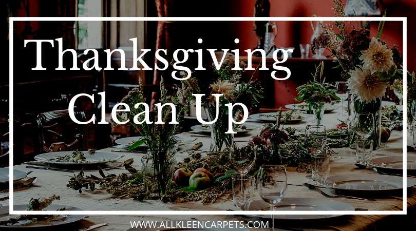 Quick and Easy Thanksgiving Clean Up