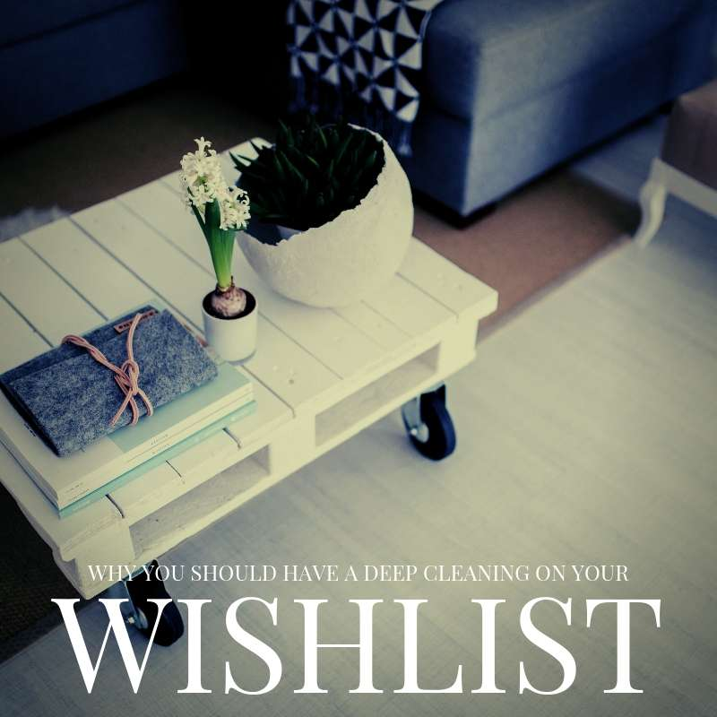 Why Professional Cleaning Should Be On Your Wishlist