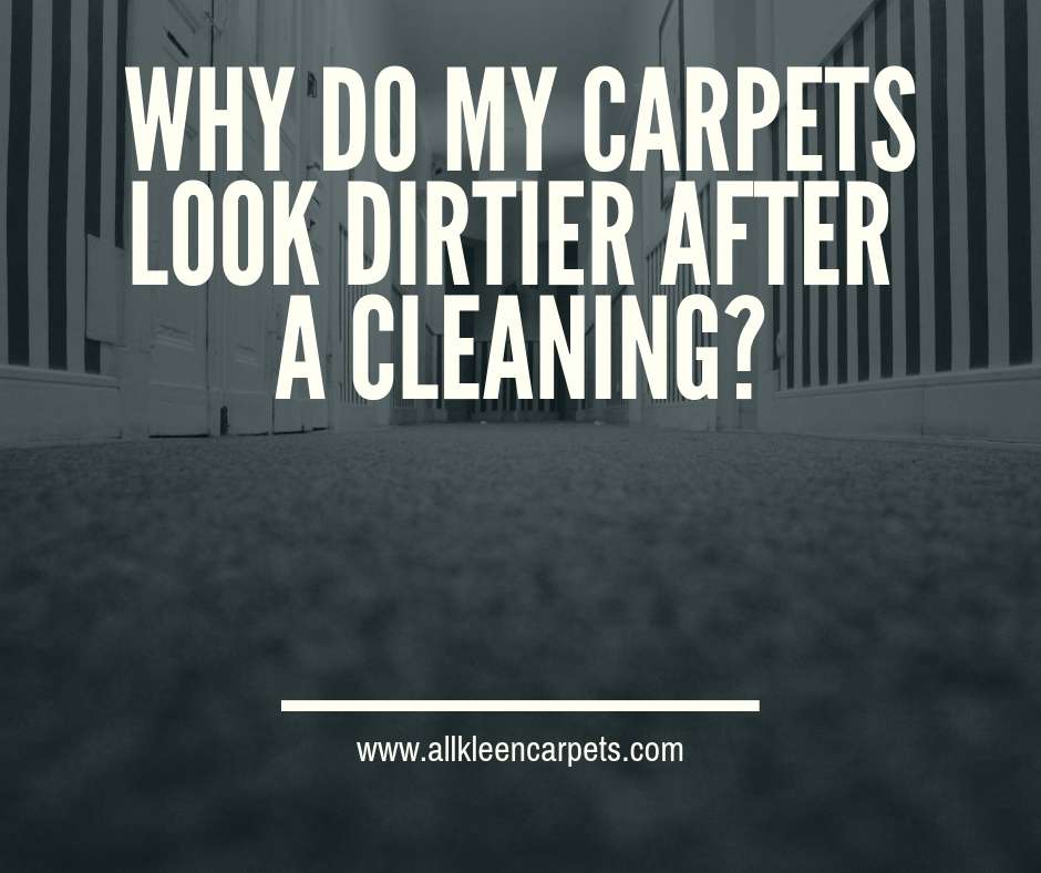 3 Reasons Your Carpet Can Look Dirty AFTER A Cleaning