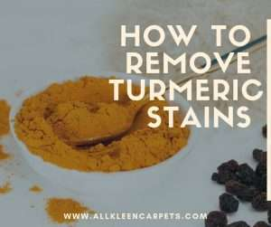 How to Remove Turmeric Stains on Furniture, Counters and Floors