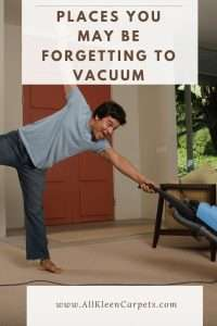 Places You May Be Forgetting to Vacuum