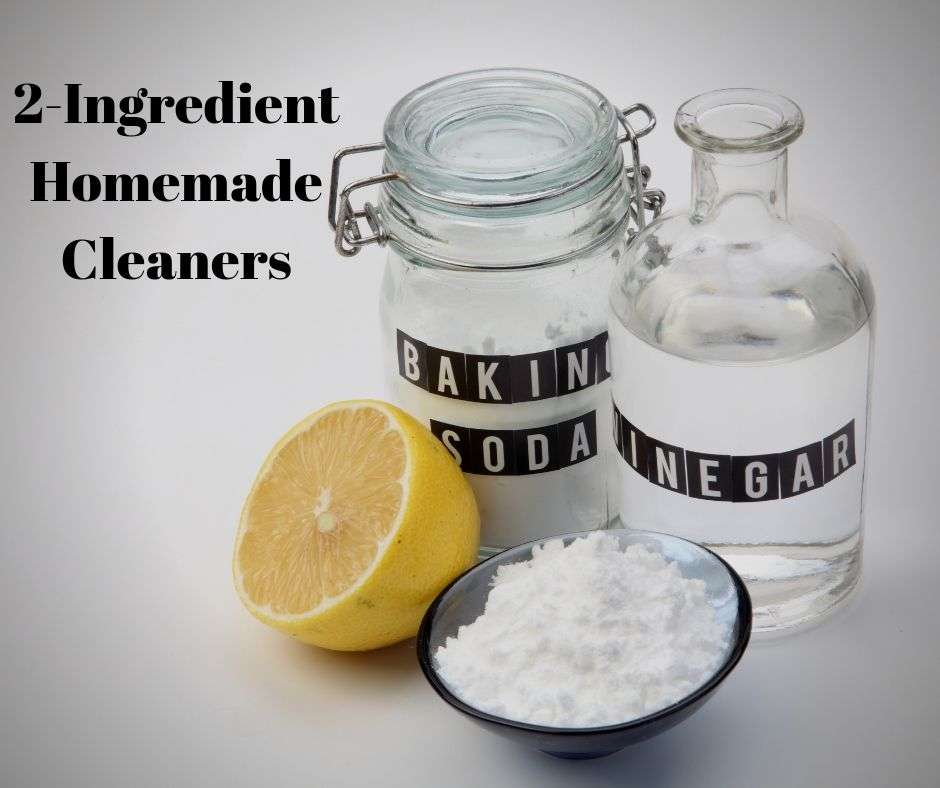 2-Ingredient Homemade Cleaners