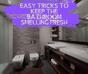 Easy Tricks to Keep the Bathroom Smelling Fresh