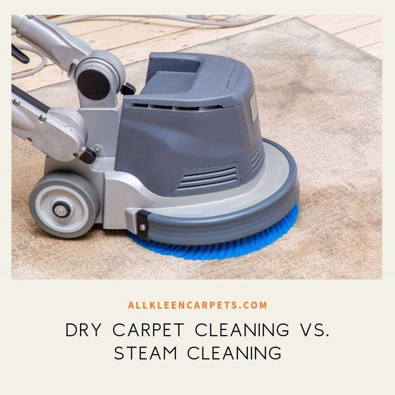 Dry Carpet Cleaning vs. Steam Cleaning