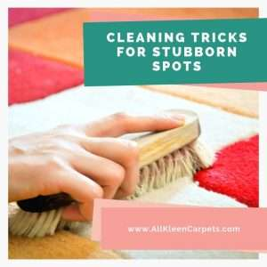 Cleaning Tricks for Stubborn Spots