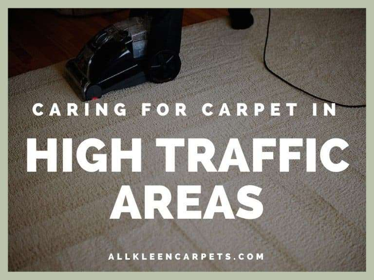 Caring for High-Traffic Areas in Carpet