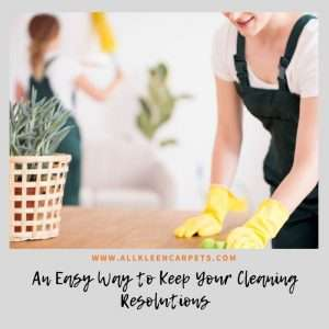 An Easy Way to Keep Your Cleaning Resolutions