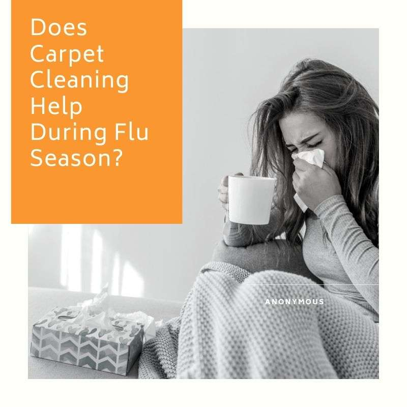 Does Carpet Cleaning Help During Flu Season?