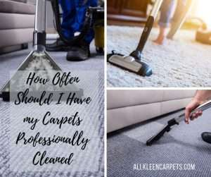 How Often Should I Have my Carpets Professionally Cleaned