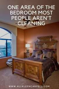 One Area of the Bedroom Most People Aren't Cleaning
