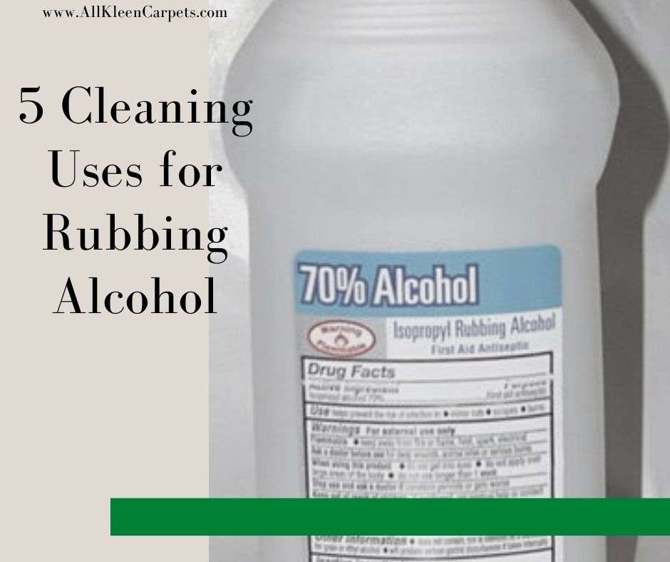 5 Cleaning Uses for Rubbing Alcohol